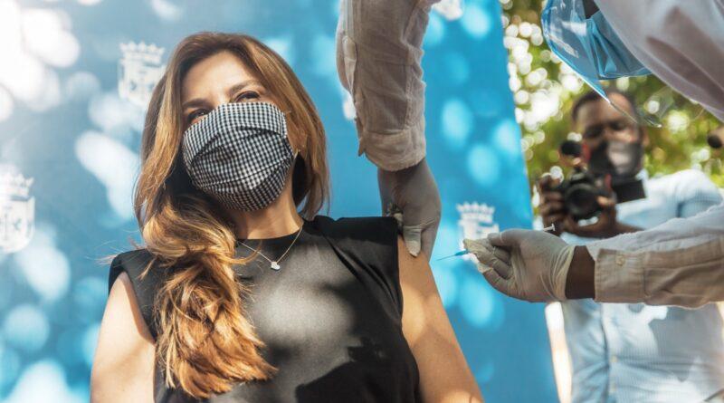 Alcaldesa Carolina Mejía exhorta a los capitaleños a vacunarse