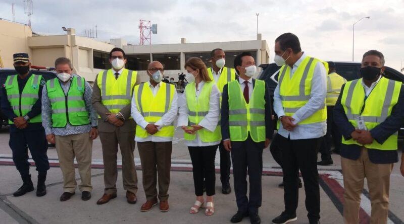 Alfredo Pacheco y Raquel Peña anuncian operativo de desinfección y pruebas masivas por Covid-19 en la Cámara de Diputados