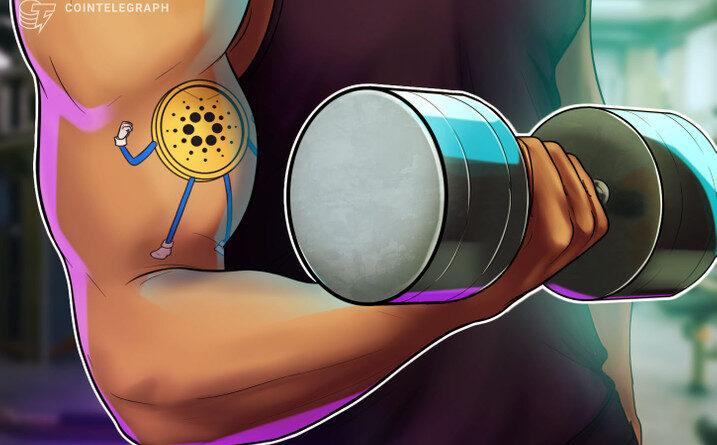 Cardano flexiona sus músculos: ADA rompe US $ 2 con fuerza