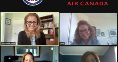 Embajadora RD en Canadá  inicia reuniones con aerolíneas