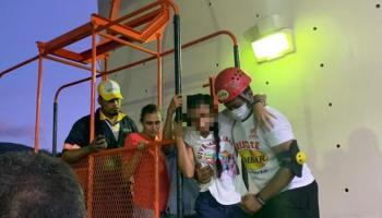 OJO: 16 de 32 vacacionistas an permanecen varados en cabina del Telefrico de Puerto Plata