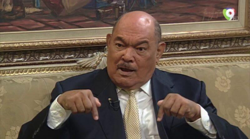 Ramón Alburquerque le aclara a Milagros Ortiz que él no hace acusación contra Lisandro Macarrulla