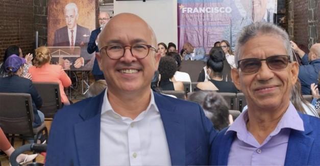 Coordinador general precampaña de Domínguez Brito afirma periplo en EEUU fue un éxito total