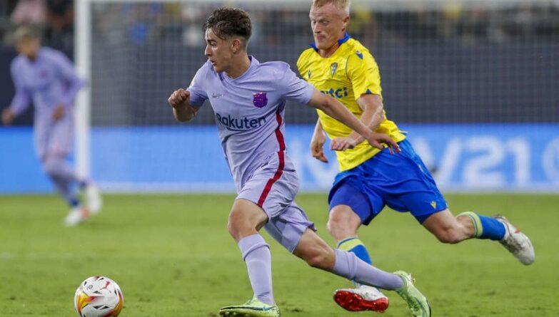 Gavi, de 17 años, convocado a la selección de España