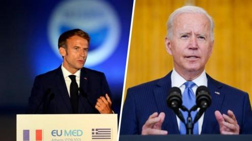 Macron y Biden hablarán por primera vez desde la crisis de los submarinos nucleares
