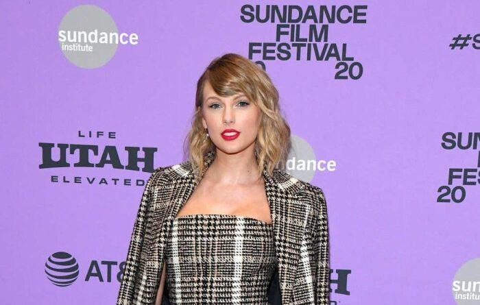 Taylor Swift dio un discurso en la 'boda secreta' de Lena Dunham