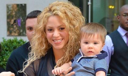 Shakira revela foto de Sasha y comprueba que es la madre más orgullosa