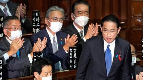 Fumio Kishida es investido como nuevo primer ministro de Japón