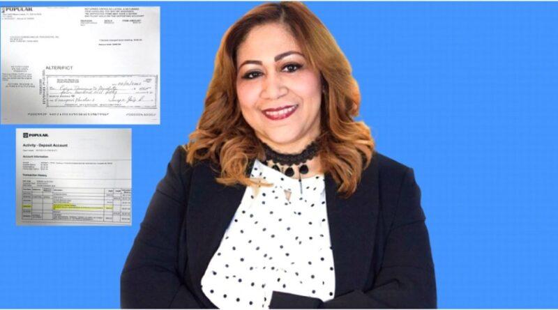 Periodista Jenny Gómez desmiente emitiera cheque sin fondo para inscribir plancha en elecciones del CDP