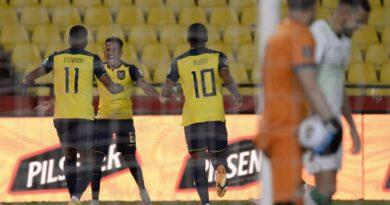 Ecuador recupera el tercer lugar en la clasificación al mundial