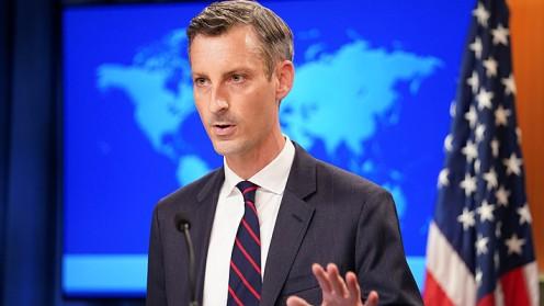 "EE.UU. emplaza a China a terminar con sus actividades militares ""provocativas"" sobre Taiwán"