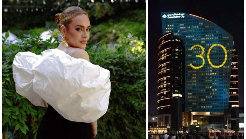 ¿Hello, is Adele? El '30' en varios edificios provoca rumores del regreso de la cantante