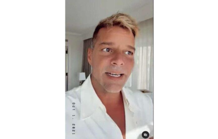 La culpa del cambio en el rostro de Ricky Martin la tiene un suero multivitamínico