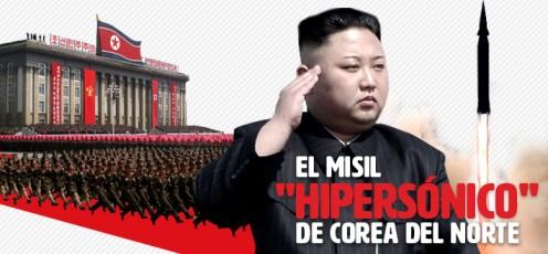 """Qué se sabe sobre el misil """"hipersónico"""" de Corea del Norte y las características que ofrece esta tecnología"""